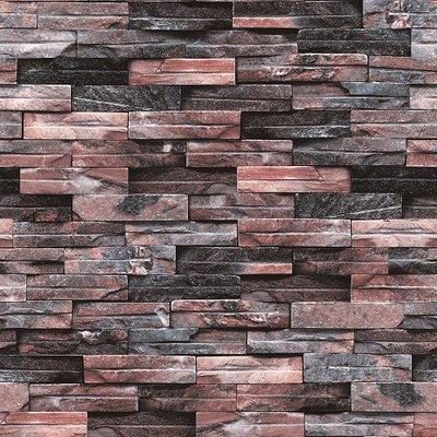3d multi colored stone brick wallpaper design 5sqm for Home wallpaper nigeria