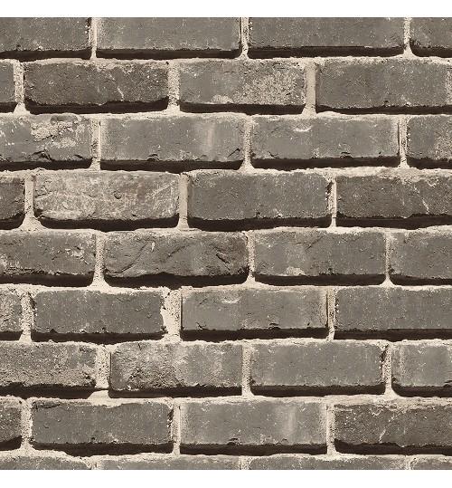 Grey modern 3d stone wallpaper decor city for 3d brick wallpaper for walls