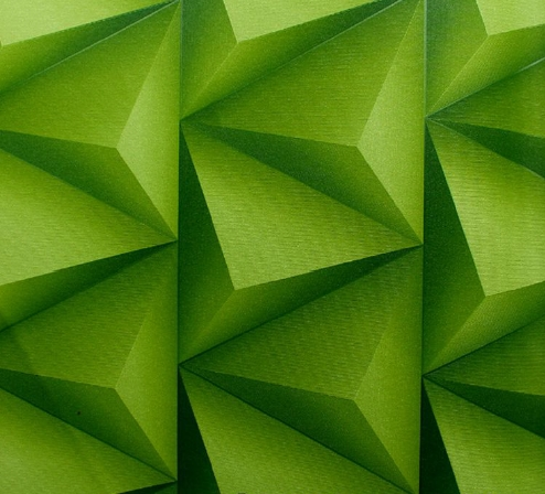 Lemon Green Triangular Wallpaper Design 533665 Decor City